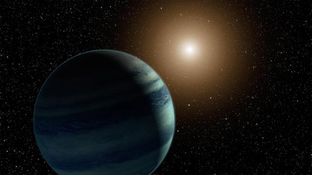 L'autre hypothèse avancée par les astronomes pour justifier leur observation : il s'agirait d'une petite planète orbitant autour d'une étoile lointaine. / Vue d'artiste. Crédit : NASA/JPL-Caltech
