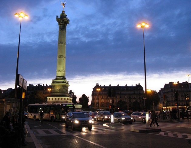 Place de la Bastille, à Paris. / Ph. r.g-s via Flickr - CC BY-SA 2.0