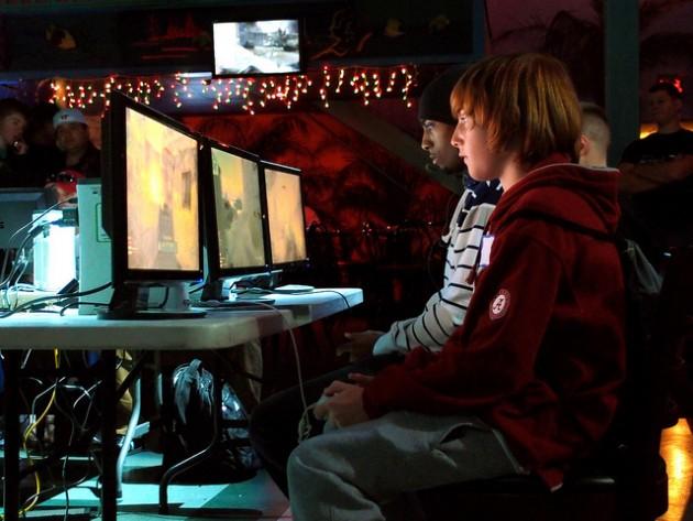 Une compétition de jeux vidéos / Ph. The Digitel Myrtle Beach, via Flickr - CC BY 2.0