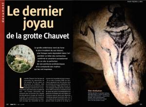 Le dernier joyau de la grotte Chauvet