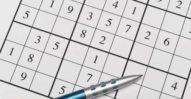 Une grille de sudoku / Ph. 2/Jeffrey Coolidge/Ocean/Corbis