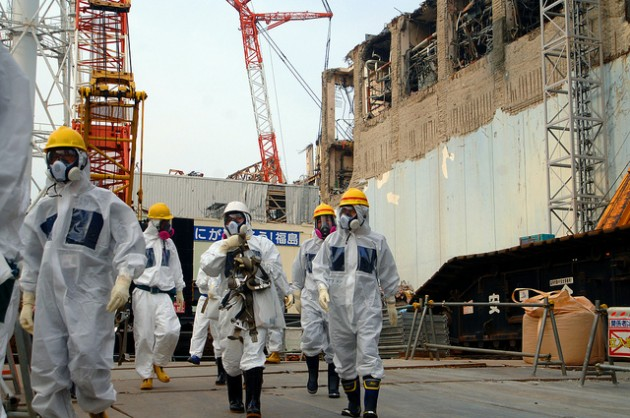 Des experts de l'IAEA dans la centrale de Fukushima Daiichi en avril 2013 / Ph. IAEA via Flickr CC BY SA 2.0