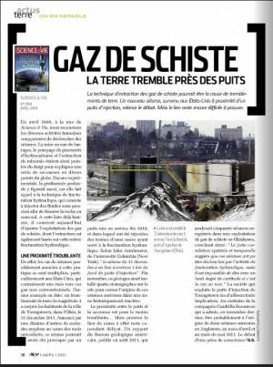 Gaz de schiste - S&V1134