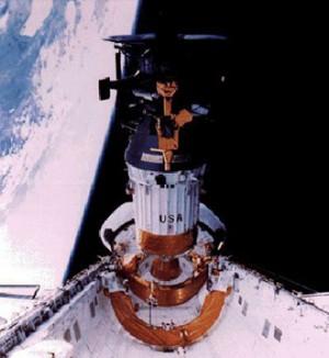 Déploiement de la sonde Galileo (NASA)