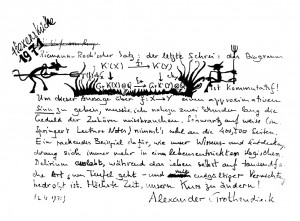 Manuscrit de Grothendieck