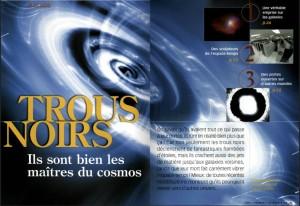S&V 1085 trous noirs