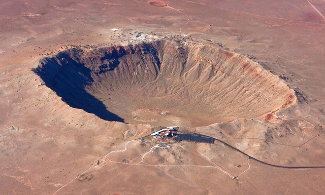 Meteor Crater en Arizona (ph. Erik Charlton via Flickr CC BY 2.0)