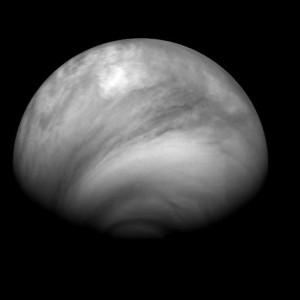 Structure nuageuse de Vénus observée le 23 juillet 2007 (crédit : ESA/MPS/DLR/IDA)