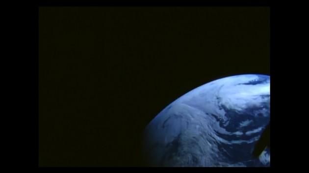Vue de la Terre depuis la capsule Orion (Nasa)