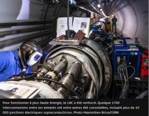 Les ingénieurs et techniciens du LHC préparent l'accélérateur de nouvelle génération (LHC/CERN)