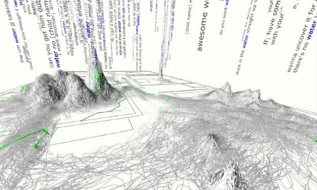 """Représentation """"géographique"""" d'une immense collection de données (Ph. Marius B via Flickr CC BY 2.0)"""