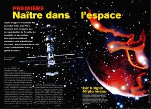 S&V 935 naitre dans l'espace
