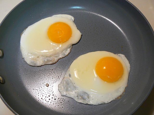 Le blanc d'un oeuf cuit peut être retransformé en liquide ( )