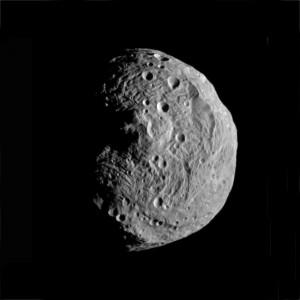 Le plus gros des astéroïdes, Vesta, a été visité par la sonde Dawn entre 2011 et 2012. Photo Nasa.
