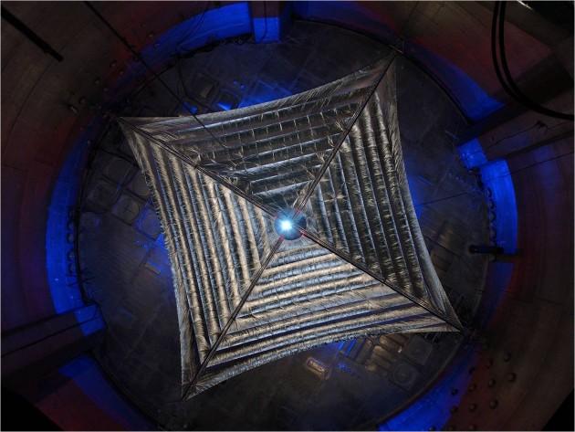 Prototype de voile solaire (NASA)