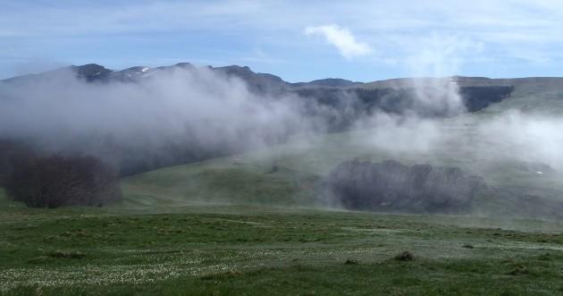 Tous les nuages restent bloqués en altitude... sauf le brouillard (Ph. Peupleloup via Flickr CC BY 2.0)