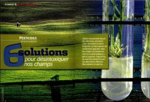 Pesticides, 6 solutions pour désintoxiquer nos champs - S&V 1099