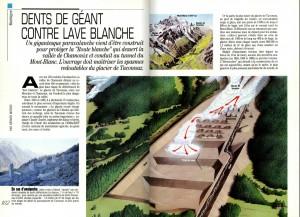 S&V 880 paravalanche Mt Blanc