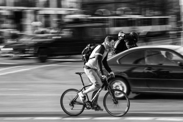Les bénéfices de rouler à vélo restent supérieurs aux méfaits de la pollution / Ph. SKohlmann via Flickr, CC BY SA 2.0
