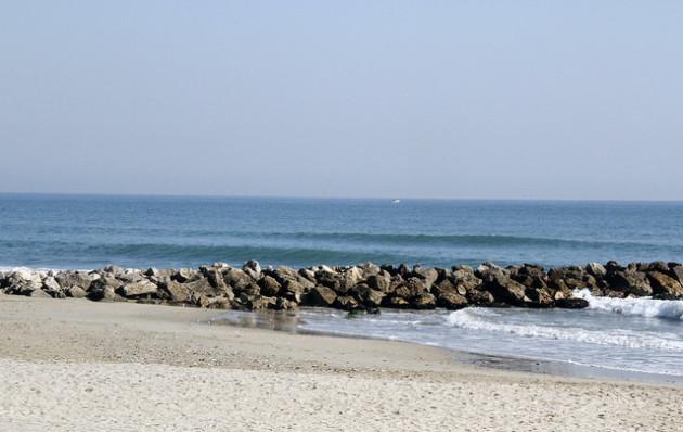 Les plages sableuses subissent déjà une érosion importante. Ici, Palavas, dans le Languedoc-Roussillon. / Ph. Isabelle Blanchemain via Flickr
