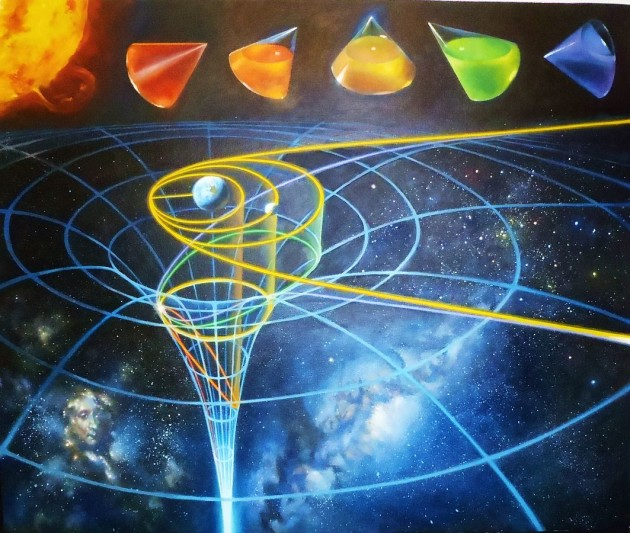 L'orbite des corps célestes peut décrire différentes trajectoires géométriques, du cercle à la parabole en passant par l'ellipse - telles les formes résultant de l'intersection d'un cône avec un plan plus ou moins incliné (Ph. Sascha Grusche via Wikicommons CC BY-SA 3.0)