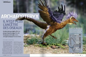 S&V 1129 - oiseaux Archaeopteryx