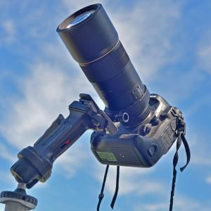 Les images illustrant cet article ont été réalisées avec un boîtier Nikon D 4 et un objectif de 300 mm de focale, ouvert à F/4. L'ensemble était monté sur un pied photo, et l'utilisation de l'intervallomètre intégré au boîtier a facilité les prises de vue. Photo S.Brunier.