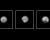 Pluton, photographiée par la sonde New Horizons les 8, 10 et 12 mai 2015, à la distance respective de 80, 77 et 75 millions de kilomètres. Ces images sont les meilleures jamais prises de la planète naine. Le 14 juillet 2015, la sonde de la Nasa passera à seulement 11 000 kilomètres de la surface de Pluton. Photos JPL/Nasa.