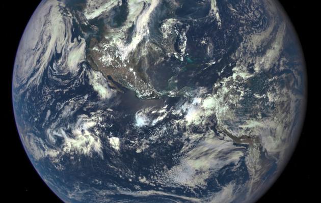 Cette image a été capturée le 6 juillet dernier par le satellite DSCOVR - Ph. NASA