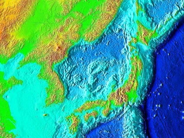 Au large de la péninsule Shimokita, au nord-ouest du Japon, des chercheurs ont découvert des micro-organismes vivant par 2500 mètres de profondeur sous le plancher océanique - Ph. NASA / Wikimedia Commons / domaine public