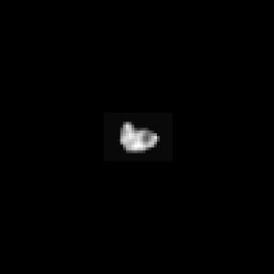 Observé de loin par New Horizons, le satellite Hydra, qui mesure environ 40 x 30 kilomètres, révèle une forme chaotique. Photo Nasa.