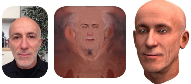 Du visage réel au visage numérique