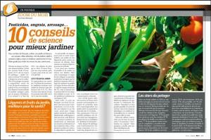 10 conseils de science pour mieux jardiner - S&V 1158