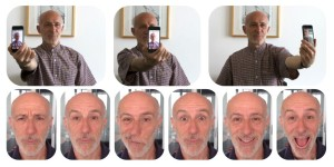 Les deux types de vidéos nécessaires pour créer son avatar (A. E. Ichim et al., EPFL).