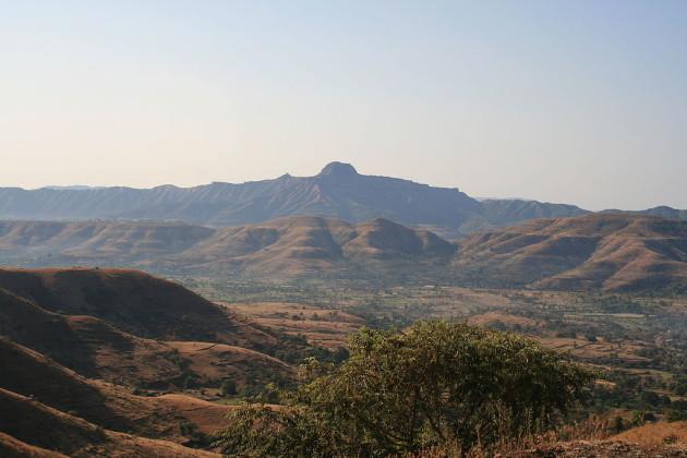 Une vue des trapps du Deccan - Ph. via Wikipedia / CC BY 3.0