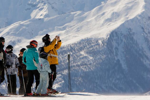 Pourra-t-on encore skier à la fin du siècle ? (crédit : office du tourisme Serre Chevalier cc2)