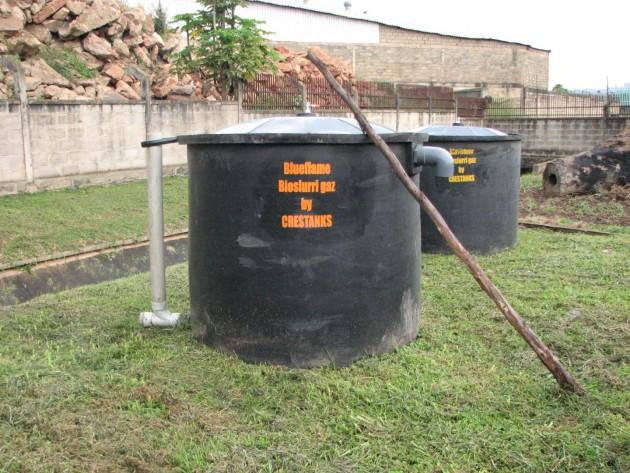 Composé à 60 % par du méthane, le biogaz est obtenu en maintenant la matière organique en un milieu dépourvu d'oxygène - Ph. Corinne Schuster-Wallace / UNU-INWEH