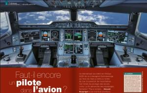 Capture pilote avion S&V