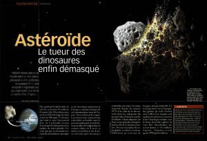 S&V 1083 - asteroide dinosaures