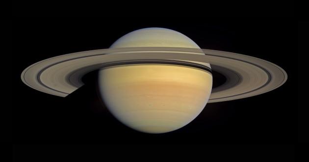La planète géante Saturne et ses anneaux, photographiés par la sonde américaine Cassini. Photo JPL/Nasa.