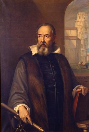 Galilée n'a jamais réalisé l'une des expériences fondatrices de la physique, depuis la Tour de Pise. Mais il l'a imaginée : lançant deux objets de masse et densité très différentes, les deux objets, en absence de frottement atmosphérique, arriveraient au sol en même temps... Photo Observatoire de Paris.