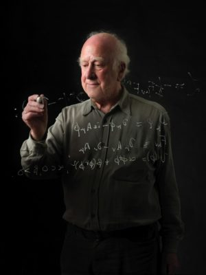 Le boson introduit par Peter Higgs dans le modèle standard confère leur masse aux particules, tout en minant de l'intérieur tout l'édifice (crédit : Cern)