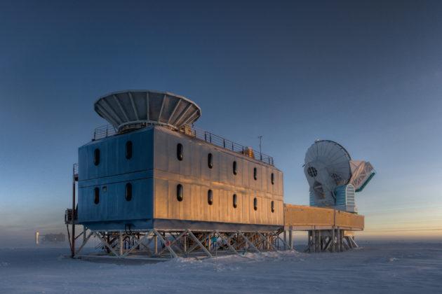 Le télescope BICEP2 (crédit : Steffen Richter, Harvard University)
