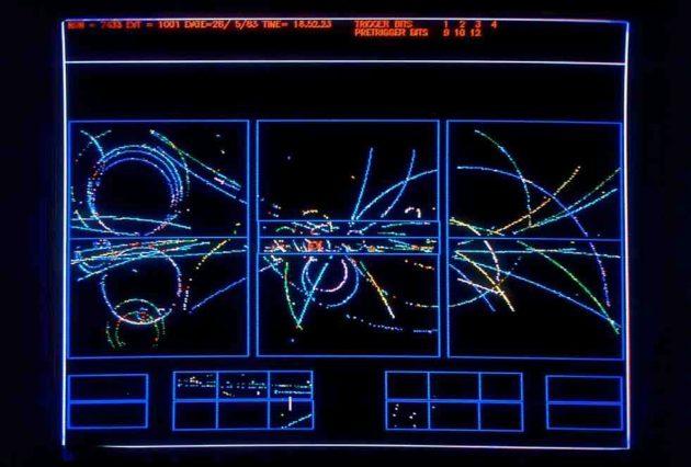 La découverte du boson Z, en 1983 au Cern, était attendue par les physiciens. (photo : Cern)
