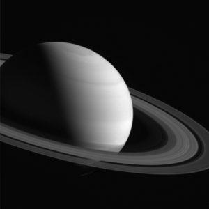 La planète Saturne, vue par la sonde Cassini en juin 2016. Photo Nasa.