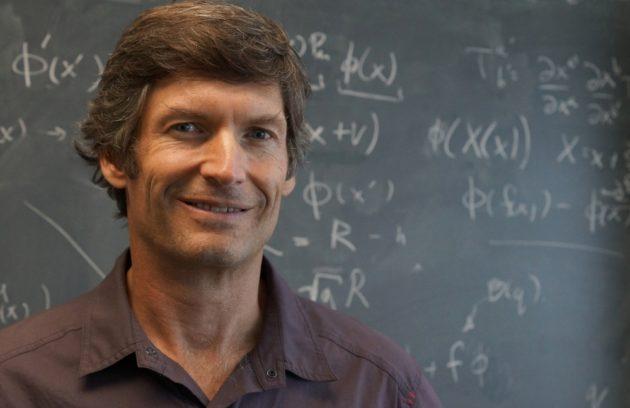 Steve Giddins, physicien théoricien au département de physique de l'université de Californie, à Santa Barbara (ph. : Sonia Fernandez)