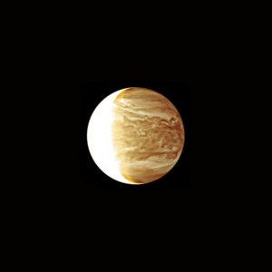 La planète Vénus, photographiée en infrarouge par la sonde japonaise Akatsuki. Photo Jaxa.